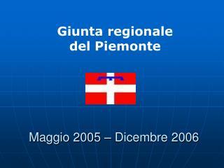 Maggio 2005 – Dicembre 2006