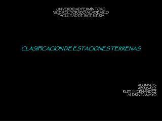 UNIVERDIDAD FERMÍN TORO VICE-RECTORADO ACADÉMICO FACULTAD DE INGENIERÍA