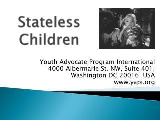 Stateless Children