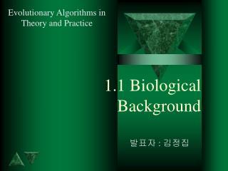 1.1 Biological Background