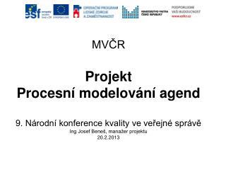 Cíl projektu PMA