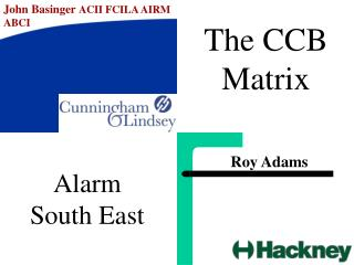 The CCB Matrix
