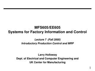 MFS605