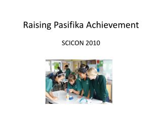 Raising Pasifika Achievement