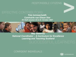 Feis lonnsachaidh Comhairle nan Eilean Siar All Staff session 23 & 24  October 2007