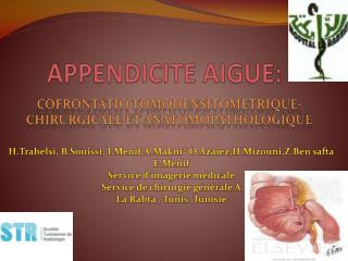 APPENDICITE AIGUE: