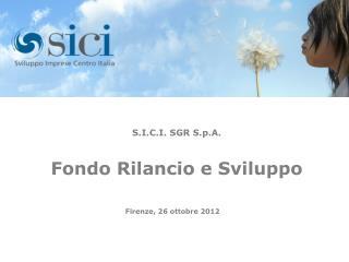 Firenze, 26 ottobre 2012