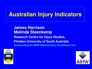 Australian Injury Indicators