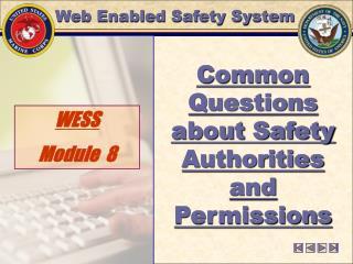 WESS  Module  8
