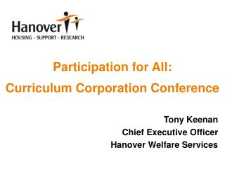Participation for All: Curriculum Corporation Conference