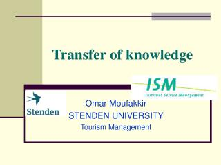 Transfer of knowledge