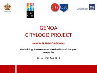 GENOA CITYLOGO PROJECT - A NEW BRAND FOR GENOA -