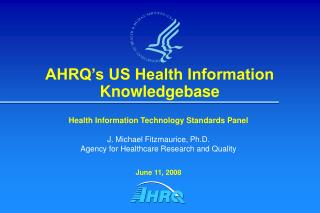 AHRQ�s US Health Information Knowledgebase