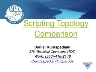 Scripting Topology Comparison