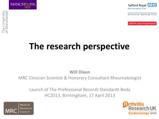 The research perspective