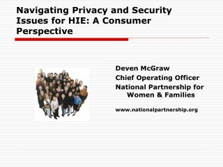 Navigating Privacy and Security Issues for HIE: A Consumer Perspective