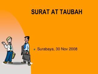 SURAT AT TAUBAH