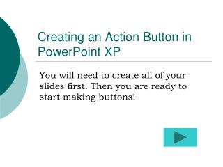Creating an Action Button in PowerPoint XP