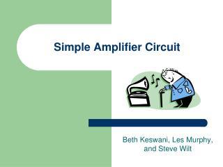Simple Amplifier Circuit