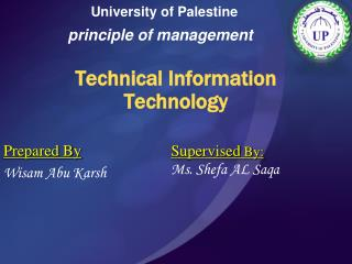 Technical Information Technology