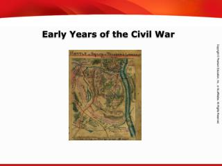 Early Years of the Civil War