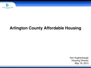 Arlington County Affordable Housing
