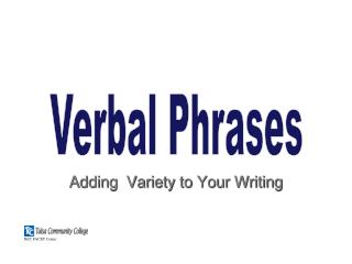 Adding  Variety to Your Writing