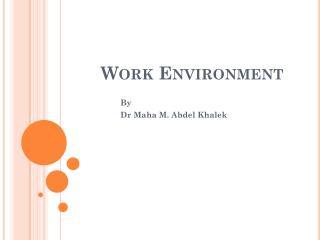 Work Environment