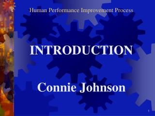 Human Performance Improvement Process