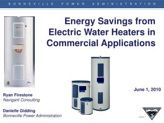 Energy Savings from Electric Water Heaters in Commercial Applications