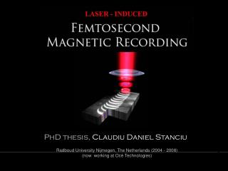PhD thesis,  Claudiu Daniel Stanciu