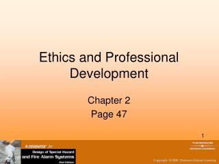 Ethics and Professional Development