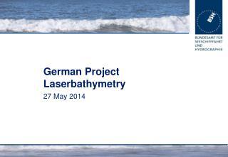 German Project Laserbathymetry