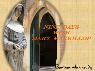 NINE  DAYS   WITH   MARY   mACKILLOP