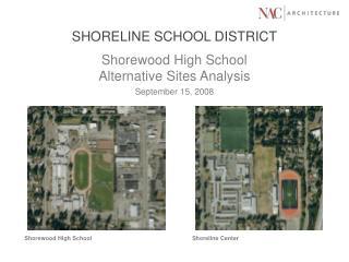 SHORELINE SCHOOL DISTRICT