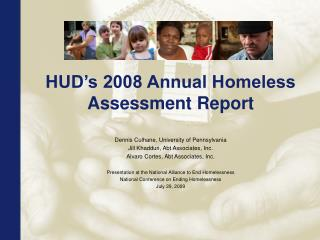 HUD's 2008 Annual Homeless Assessment Report