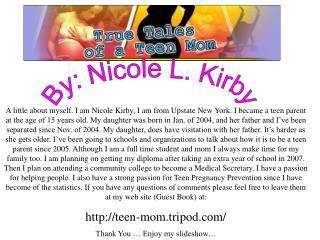 By: Nicole L. Kirby