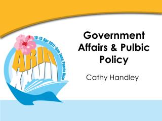 Government Affairs & Pulbic Policy