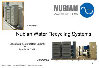 Nubian Water Recycling Systems