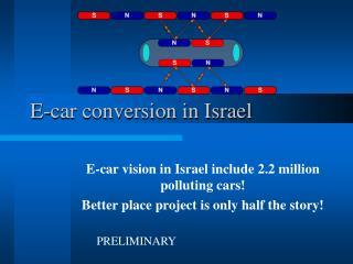 E-car conversion in Israel