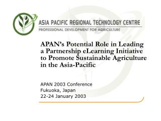 Importance of Agriculture –  Asia-Pacific