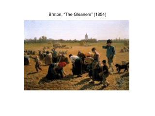 Breton, �The Gleaners� (1854)