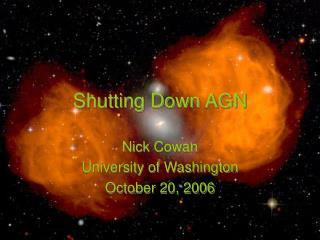 Shutting Down AGN