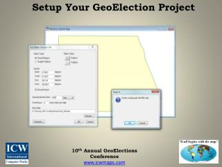 Setup Your GeoElection Project