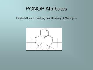 PONOP Attributes