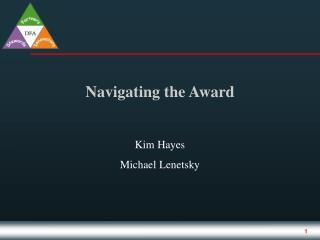 Navigating the Award