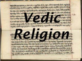 Vedic Religion