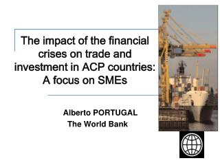 The impact of the financial crises on trade and investment in ACP countries: A focus on SMEs