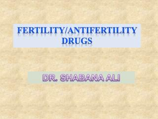 DR. SHABANA ALI