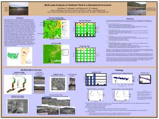 Multi-scale Analysis of Sediment Yield in a Glaciated Environment